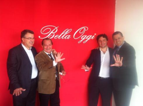 Hinode com parceria com a BellaOggi